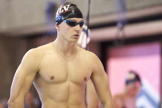 UNLV senior Tom Paco-Pedroni hopes to qualify for the NCAA championships in the 100- and 200-yard freestyle. (Courtesy of UNLV athletics)