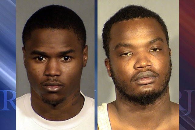 Alfred Weathers and Leandre Lacey (Las Vegas Metropolitan Police Department)
