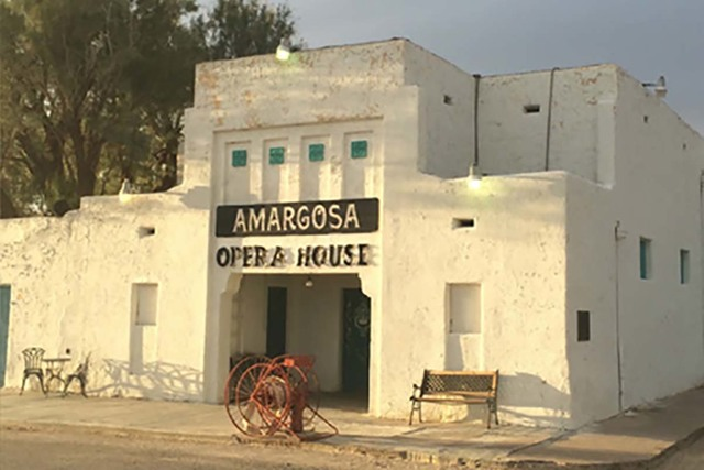 Amargosa Cafe and the Amargosa Opera in Death Valley Junction, Calif. (Special to the Pahrump Valley Times)