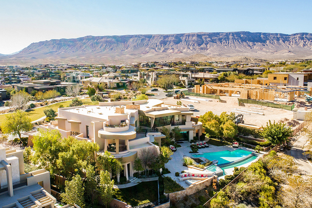 Andrew and Jodi Fonfa are putting their home in The Ridges in Summerlin on the market for a cool $6.9 million. (Courtesy)