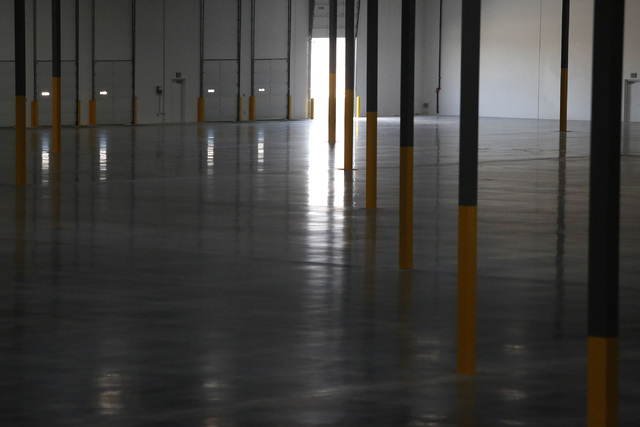 The inside of an industrial center on Thursday, Feb. 9, 2017, in North Las Vegas. Bed Bath & Beyond is moving a warehouse operation into the center. (Christian K. Lee/Las Vegas Review-Journal) ...