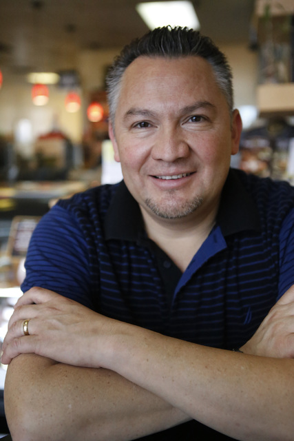 Luis Escobar, 42, at the George's Italian Deli on Friday, Feb. 03, 2017, in Las Vegas. (Christian K. Lee/Las Vegas Review-Journal) @chrisklee_jpeg