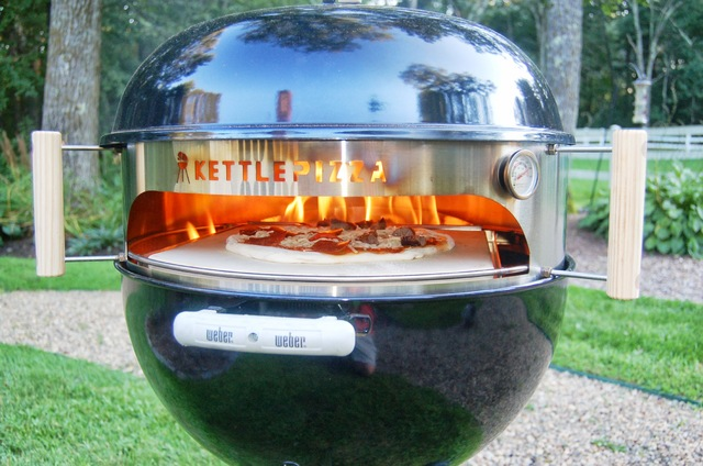 Make better pizza with KettlePizza. (courtesy)