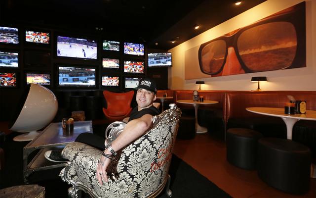 Bar Born and Raised owner Scottie Godino at his bar on S. Cimarron Road in Las Vegas, Sunday, Jan. 29, 2017. (Chitose Suzuki/Las Vegas Review-Journal) @chitosephoto