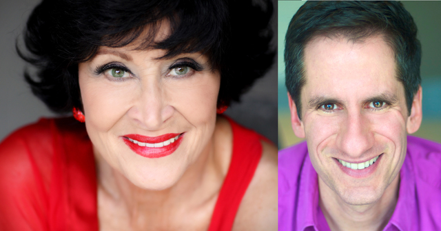Chita Rivera and Seth Rudetsky. (Courtesy)