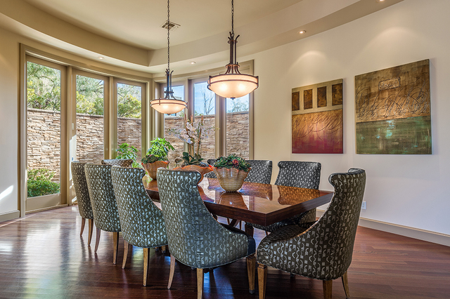 The formal dining room. (DAVID REISMAN/REAL ESTATE MILLIONS)