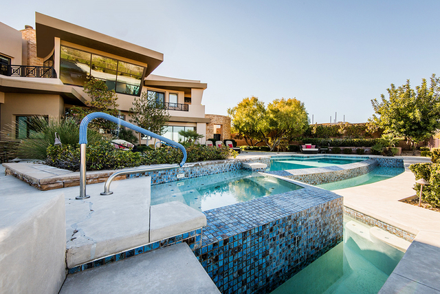The home has a pool area. (Courtesy)