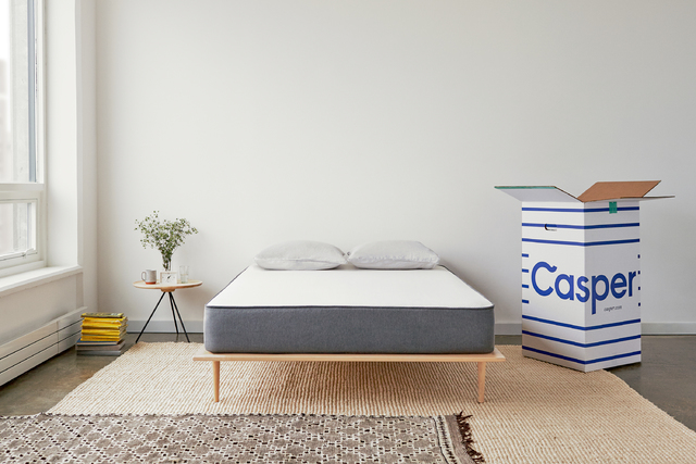 COURTESY The Casper's sleep surface is universally comfortable — it contours to the body to relieve pressure while retaining a healthy bounce and cool temperature.