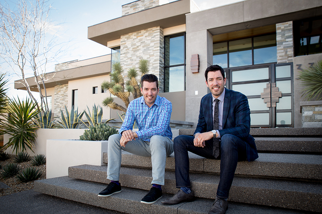 """The Property Brothers"" Drew and Jonathan Scott launched their new line of luxury home designs. (Tonya Harvey/Real Estate Millions)"