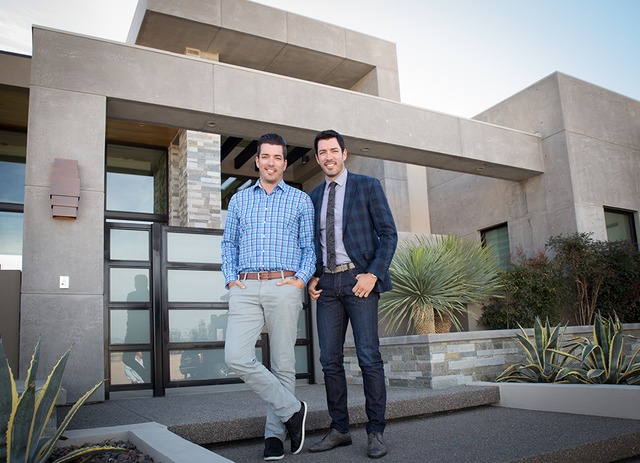 Drew and Jonathan Scott's Dream Homes by Scott Living will design ultra-luxury desert contemporary-style dwellings. (Tonya Harvey/Real Estate Millions)
