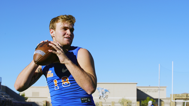 "Bishop Gorman quarterback Tate Martell is featured in the docuseries ""QB1."" (courtesy photo)"