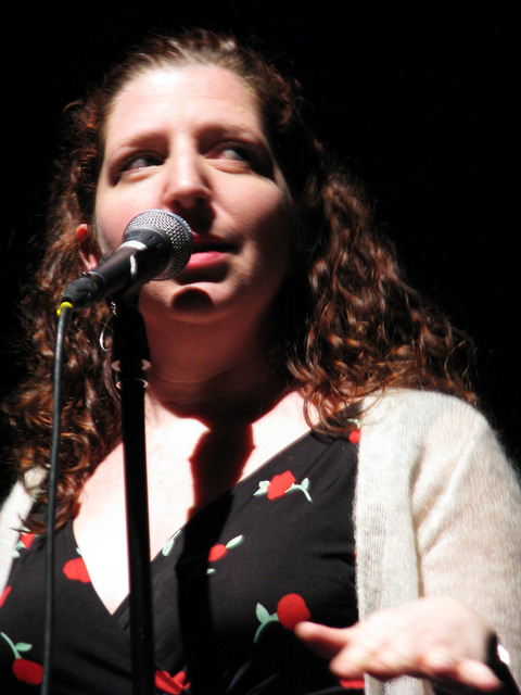 Micaela Blei was excited to bring her story about teaching New York City third graders about settling the west to The Moth Mainstage at the National Cowboy Poetry Gathering at Elko Nev. Feb. 4, 20 ...