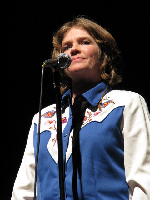 Amy Hale Auker told her story about  remarrying and discovering a different kind of partnership on the ranch at The Moth Mainstage at the National Cowboy Poetry Gathering at Elko Nev. Feb. 4, 2017 ...