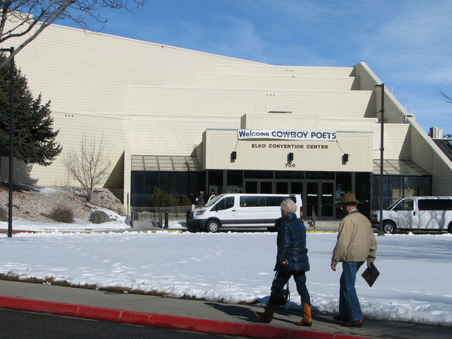 The Elko Convention Center is one of the main venues for the annual National Cowboy Poetry Gathering. (F. Andrew Taylor/Las Vegas Review-Journal)