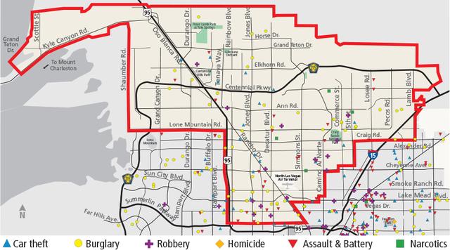 Las Vegas Valley crime trends for Feb 27March 5 Las Vegas Review