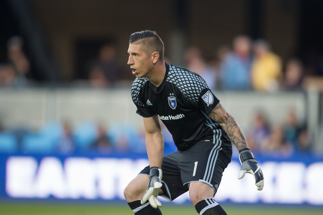 David Bingham plays goalkeeper for the San Jose Earthquakes and the U.S. men's national team. (Courtesy of the Earthquakes)