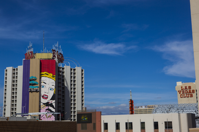 Artist d face brings colorful intrigue to his mural at the for Contemporary resort mural