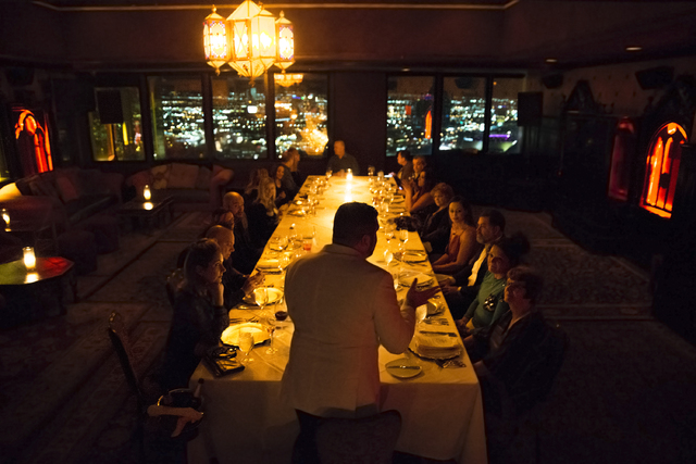 Over dinner, Las Vegas medium connects guests with loved ones who\'ve ...