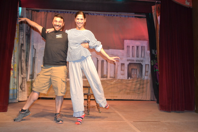 """Production manager Gregory Perez has joined his childhood friend Jenna McClintock for the production of the one-woman show """"Amargosa Opera House Presents Jenna McClintock."""" The show opened on Dec. ..."""