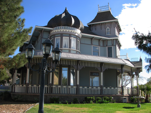 Architect Bob Larson Built The Victorian Home On Frenchman Mountain. U201cWe  Built It Up
