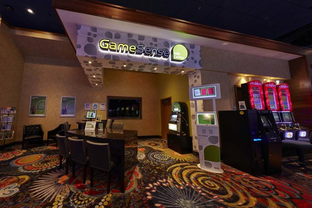 The British Columbia Lottery Corp. has a GameSense Information Centre and kiosk at its Cascades Casino in Kamloops, British Columbia. (British Columbia Gaming Corp.)