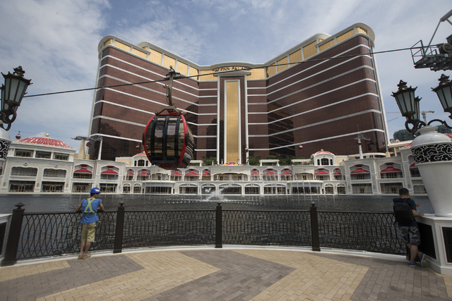 The Wynn Palace is photographed on Tuesday, Sept. 13, 2016, in Macau. (Erik Verduzco/Las Vegas Review-Journal) @Erik_Verduzco