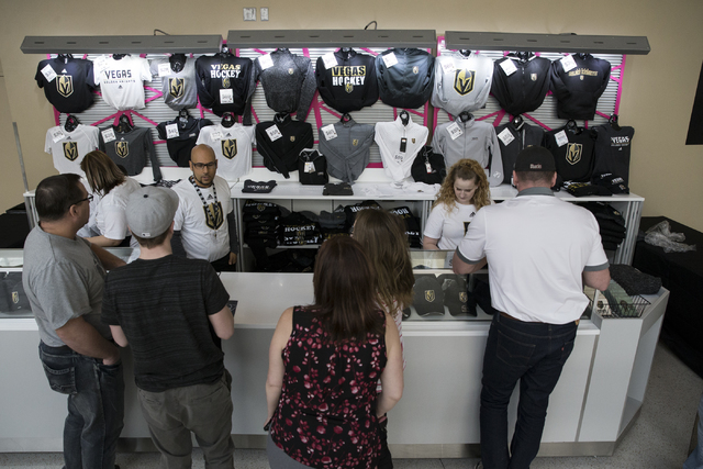 Golden Knights Fans Purchase Season Tickets At Open House Las
