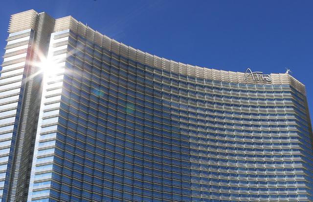 Aria hotel-casino in Las Vegas on Wednesday, Feb. 1, 2017. (Bizuayehu Tesfaye/Las Vegas Review-Journal) @bizutesfaye