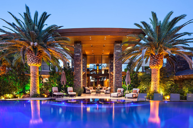 Award-winning illusionist and entertainer David Copperfield purchased the most expensive home ever recorded in Las Vegas. (KuDA Photography)