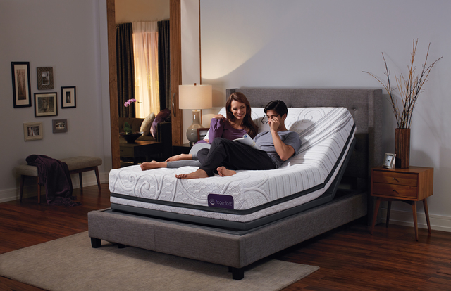 COURTESY Serta iComfort is now offering both memory foam and hybrid mattresses that are compatible with all Serta adjustable foundations.