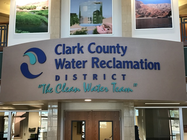 The Clark County Water Reclamation District is pictured in Las Vegas on Tuesday Feb. 14, 2017. (Raven Jackson/Las Vegas Review-Journal) @ravenmjackson
