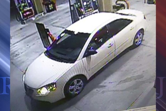 Las Vegas police are looking for a man driving a white Pontiac Grand Am involved in an indecent exposure case on Jan. 30, 2017, in the 1900 block of East Craig Road. (North Las Vegas Police Depart ...