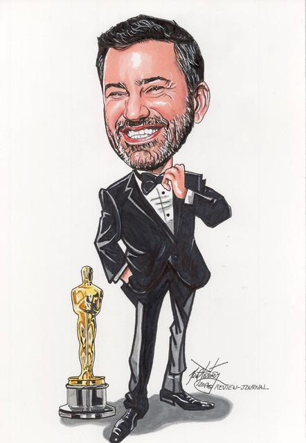 Jimmy Kimmel (Neal Portnoy/Las Vegas Review-Journal)