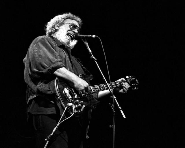 One of Erik Kabik's favorit shots of Jerry Garcia (Credit: Erik Kabik Photography)
