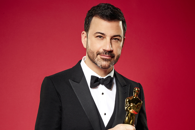 THE OSCARS® - Late-night talk show host, producer and comedian Jimmy Kimmel will host the 89th Oscars® to be broadcast live on Oscar® SUNDAY, FEBRUARY 26, 2017, on the ABC Television Network. ( ...