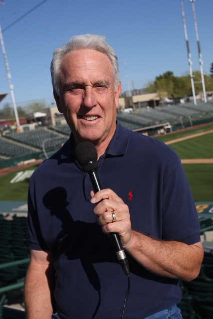 Longtime Las Vegan Ken Korach is beginning his 22nd season as radio voice of the Oakland Athletics. (Courtesy: Ken Korach)