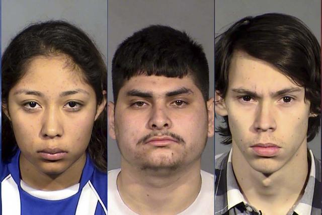 Brenda Garcia, Joseph Sanchez and Michael Trieb (Las Vegas Metropolitan Police Department)