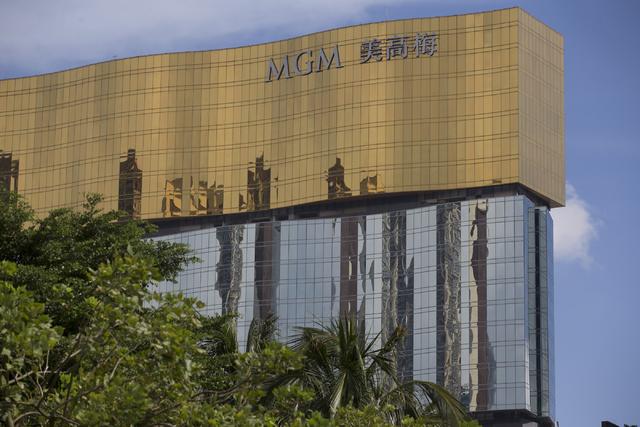 MGM Macau hotel-casino is seen on Sunday, Sept. 11, 2016, in Macau. (Erik Verduzco/Las Vegas Review-Journal) @Erik_Verduzco