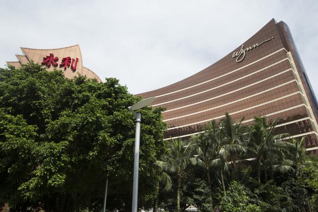 Wynn Macau hotel-casino is seen on Sunday, Sept. 11, 2016, in Macau. (Erik Verduzco/Las Vegas Review-Journal) @Erik_Verduzco