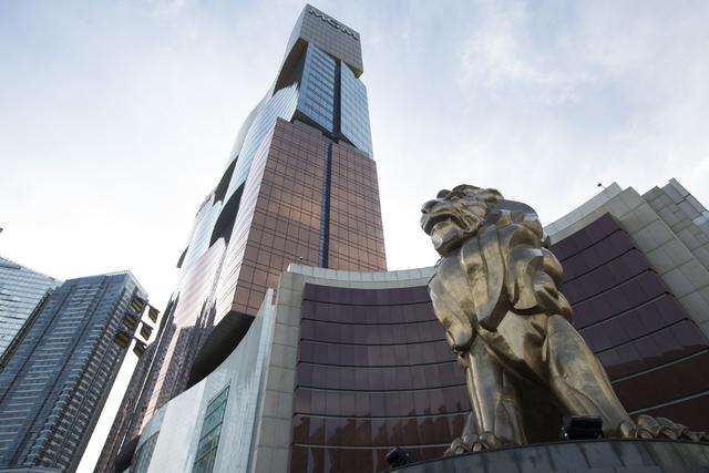 MGM Grand Macau hotel-casino is seen on Sunday, Sept. 11, 2016, in Macau. (Erik Verduzco/Las Vegas Review-Journal) @Erik_Verduzco