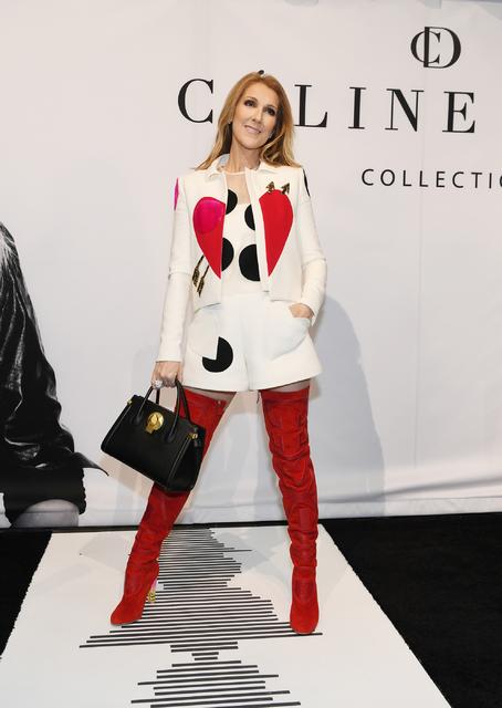 Celine Dion  Purse launch Feb 21 2017  photos by Denise Truscello  Photos By Denise Truscello