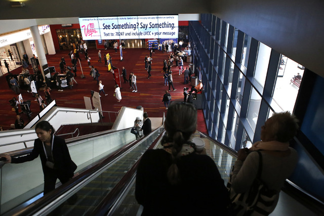 The MAGIC fashion convention at the Las Vegas Convention Center on Tuesday, Feb. 21, 2017, in Las Vegas. (Christian K. Lee/Las Vegas Review-Journal) @chrisklee_jpeg