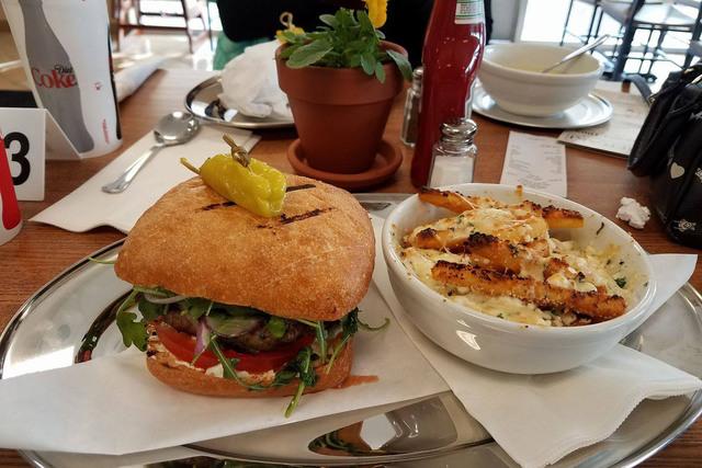 Lamb burger from Meraki Greek Grill (Facebook)