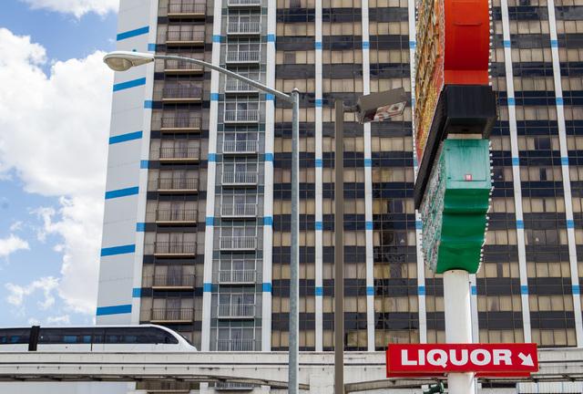 The Las Vegas Monorail passes Bally's hotel-casino, seen in the background, in Las Vegas on Thursday, July 9, 2015. (Chase Stevens/Las Vegas Review-Journal) Follow Chase Stevens on Twitter @csstev ...