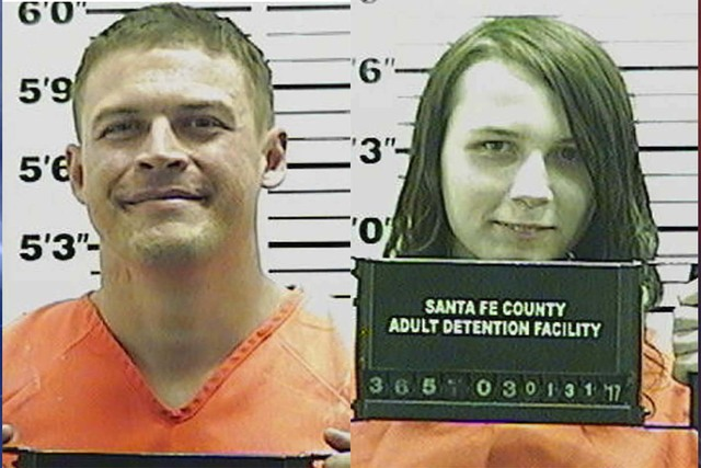 Jack Morgan, left, and Sophie Brown (Santa Fe County, New Mexico)