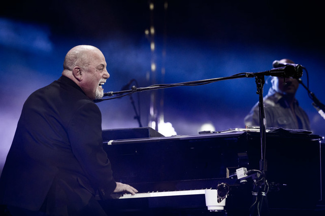Billy Joel at T-Mobile Arena in Las Vegas, April 30, 2016. (Erik Kabik Photography/MediaPunch)