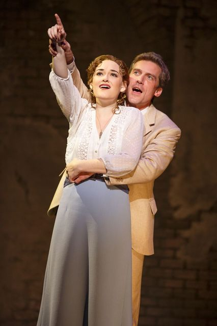 """Sylvia Llewellyn Davies (Christine Dyer) and playwright James M. Barrie (Kevin Kern) forge a life-changing friendship in the musical """"Finding Neverland,"""" opening Tuesday at The Smith Center. ( ..."""