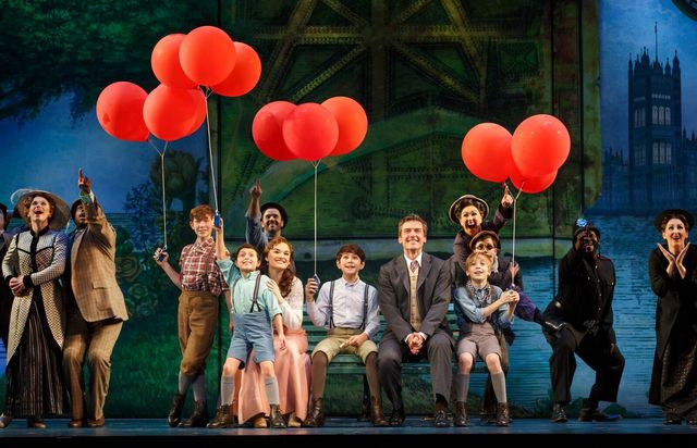 """""""Finding Neverland's"""" national tour arrives Tuesday at The Smith Center's Reynolds Hall Tuesday for an eight-performance run. (Carol Rosegg/Smith Center for the Performing Arts)"""
