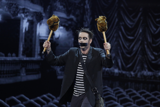 "Tape Face performs on ""America's Got Talent"" (Trae Patton/NBC)"