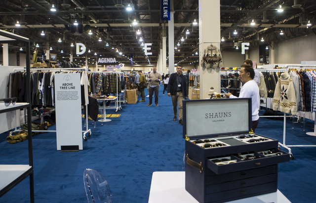 The Off Price Expo at the Sands Expo and Convention Center in Las Vegas on Monday, Feb. 20, 2017. (Miranda Alam/Las Vegas Review-Journal) @miranda_alam